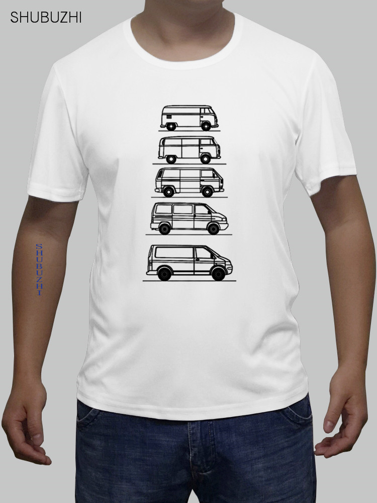 Transporters Campers In Disguise T-Shirt - T4 Tag Van - Geschenk Fur Vater New Fashion Men'S T Shirts Euro Size Sbz463
