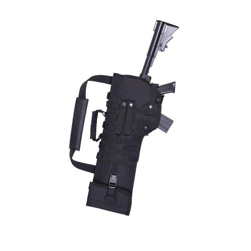 Taktische Faltende Gun Tasche Military Shotgun Gewehr MOLLE Rucksack Airsoft Schulter Fall 600D Oxford Tuch