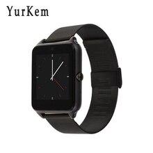 Inteligente Relógio Notificador GT08 além de Sincronização do relógio inteligente homens Smartwatch Telefone Cartão Sim Suporte a Conectividade Bluetooth Android PK GT 08