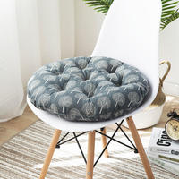 Comfortable Cotton Seat Cushion Winter Office Bar Chair Back Seat Cushions Sofa Pillow Buttocks Chair Cushion Home Office Decor