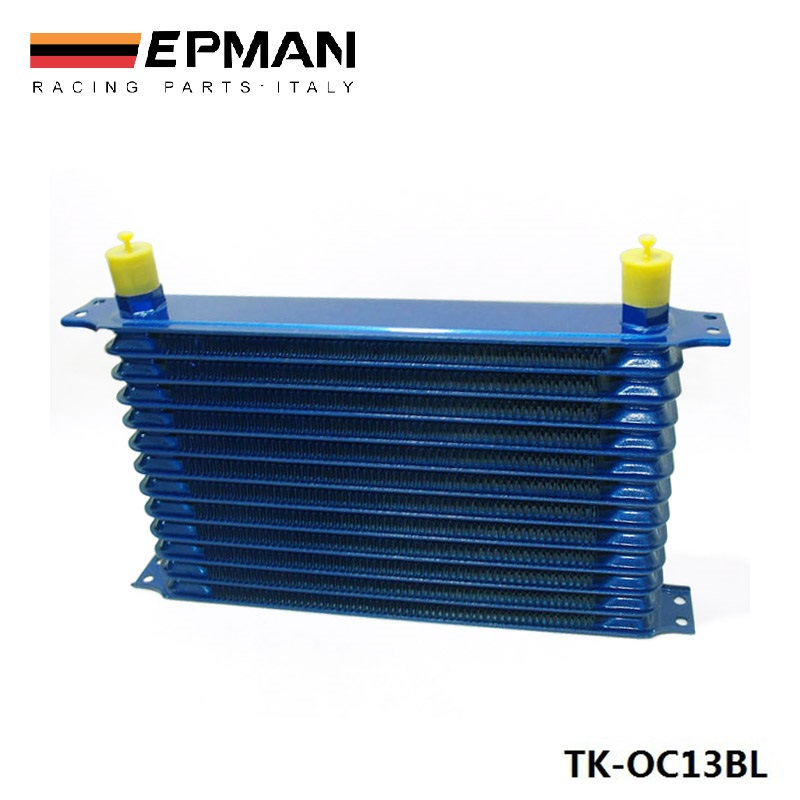 13rows 50mm thick aluminium universal TRUST DESIGN engine or gearbox oil cooler EP-OC13BL maisel jordana universal design creating inclusive environments