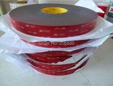 100% Оригинал Гарантия 3 М ленты VHB 5925 высокой липкий акриловый клей пена ленты/12 мм * 33 М 5 rolls/много/толщина 0.64 ММ