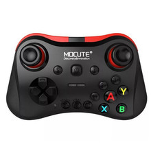 Bluetooth Gamepad inalámbrico Android Joystick VR controlador móvil Joypad para PUBG Smartphone Smart TV BOX PC Gamepads Mocute 056(China)