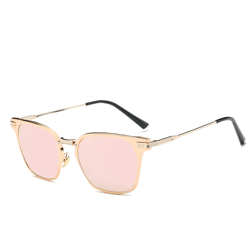 8da455068f5f4 New Fashion Women Sunglasses Square Glasses Metal Cat Eye Sunglasses Women  Brand Designer High Quality Sunglasses 2017USD 12.00 piece Round ...