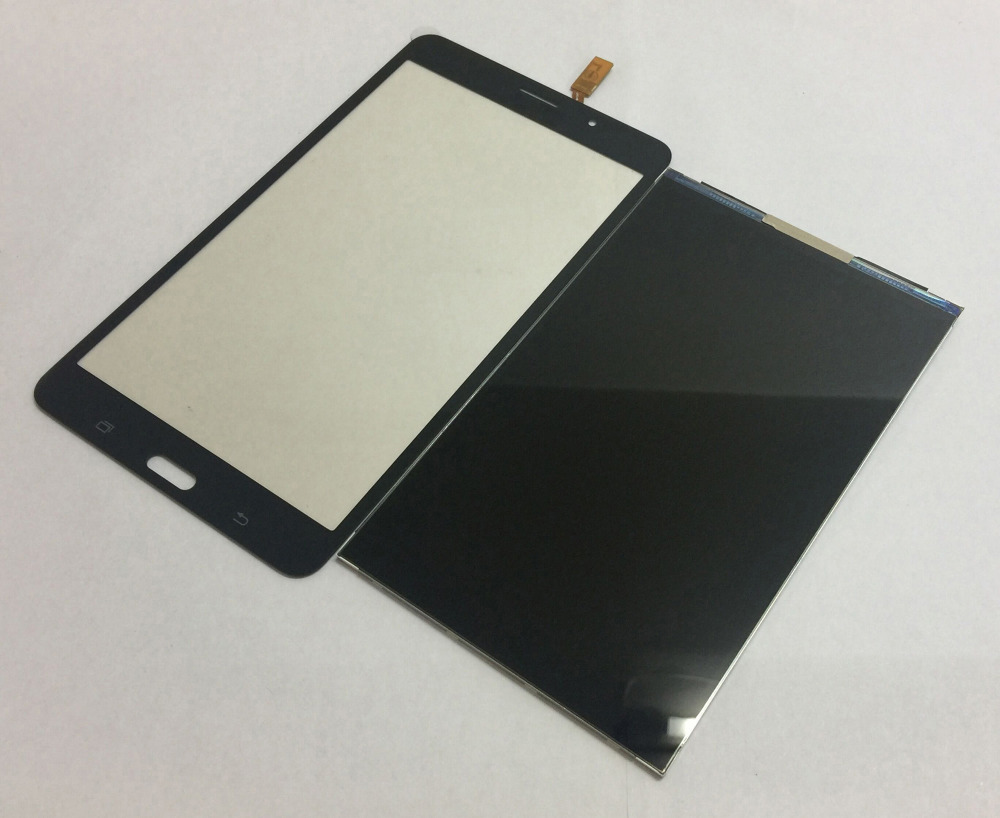 Black Touch screen Sensor Glass Digitizer + Lcd Display Screen Panel Monitor for Samsung Galaxy Tab 4 7.0 SM-T231 T231 T235 цена и фото