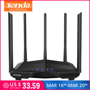 Tenda AC11 Wifi Repeater Gigabit Dual-Band AC1200 Wireless Router