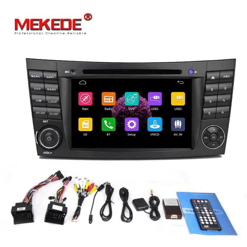 Free shipping! Car dvd multimedia player radio for Mercedes