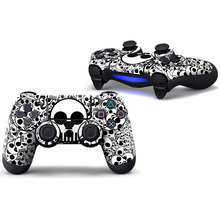 Skull Protective Skin Sticker PS4 Controller