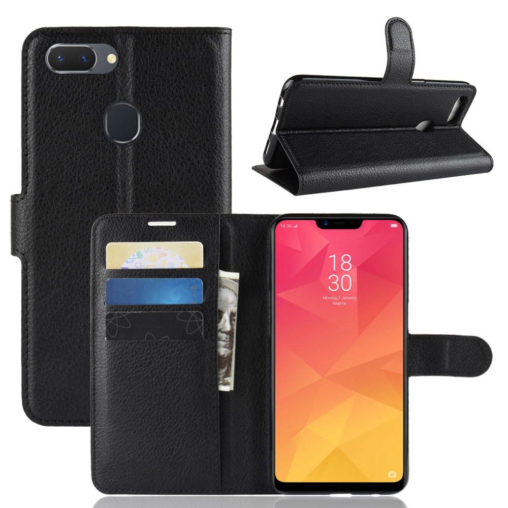 Leather Case For <font><b>Oppo</b></font> R17 Pro <font><b>Find</b></font> <font><b>X</b></font> <font><b>Covers</b></font> <font><b>Oppo</b></font> F9 F9 Pro A5 Realme 2 3 Pro <font><b>X</b></font> C2 AK1 K1 AX5S A5S Reno F10X Z 11 Pro A7 AX7 Case image