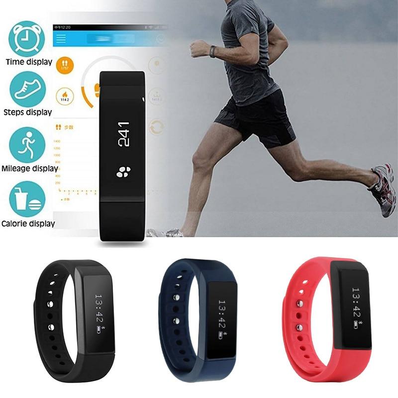 Bluetooth Sport Wristband Band Smart Bracelet Watch Pedometer Sleep Health Fitness Tracker Activity Wristband For Women