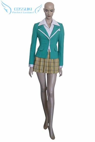 Rosario Vampire Moka Akashiya Uniform Cosplay Costume Perfect Custom For You