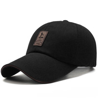 1Piece Men S Adjustable Baseball Cap Casual Leisure Hats Solid Color Fashion Snapback Summer Fall Hat