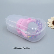 2 Pcs Bayi Dot Puting Case Pemegang Perjalanan Dot Kotak Penyimpanan(China)