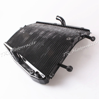 Radiator Cooler Cooling For Honda CBR1000RR 2012 2014 12 13 14 Engine Water Tank Black