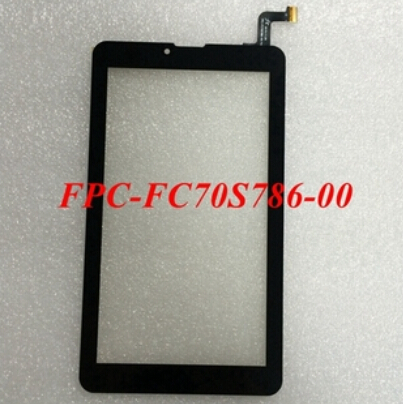 все цены на  New 7'' inch touch screen for tablet capacitive touch screen panel digitizer FPC-FC70S786-02 /FPC-FC70S786-00 Free shipping  онлайн