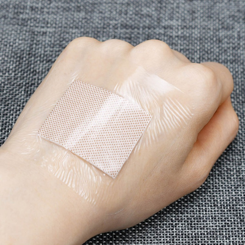 30pcs 6*7cm Waterproof Band-Aid Wound Dressing Medical Transparent Sterile Tape For Swimming Bath Wound Care Protect