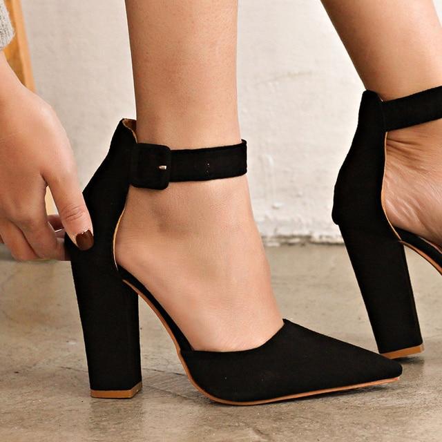 Abuso Hubert Hudson Occultamento  Women Pumps Ankle Strap Women Helels For Wedding Shoes Women Heels Classic High  Heels Extreme Heeled Sandals 12CM Ladies Red888|Women's Pumps| - AliExpress