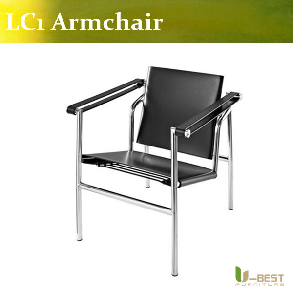 U-BEST high quality Reproduction Basculant Chair LC1 chair ,famous classic replica furniture lewis petrinovich human evolution reproduction