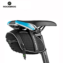 ROCKBROS Bicycle Bag 3D Shell Rainproof Saddle Bag Mountain Bike Accessories Bisiklet Aksesuar  Handlebar Bike Trunk Bag