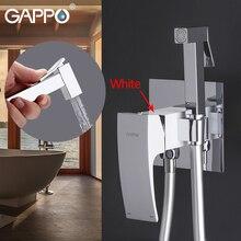 Смеситель для биде GAPPO, латунный Смеситель для туалета с хромированным покрытием, смеситель для биде, ванной, туалета, биде, смеситель для душа, спрей для ванны и душа