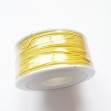 0.5mm Single Core Copper / PCB board fly line 30  electronic Wire / about 250M / Roll  color YELLOW