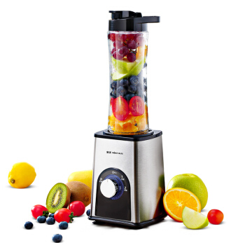 Portable Juicer Home Electric Cooking Machine Multifunction Small Mini Mixer Stainless Steel Color Blender цена