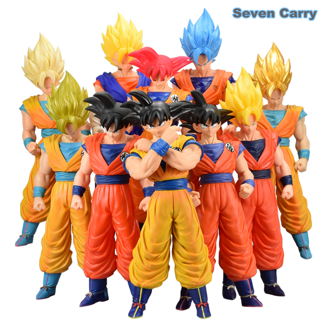 Anime Dragon Ball Z goku action figure toys PVC Large 43CM