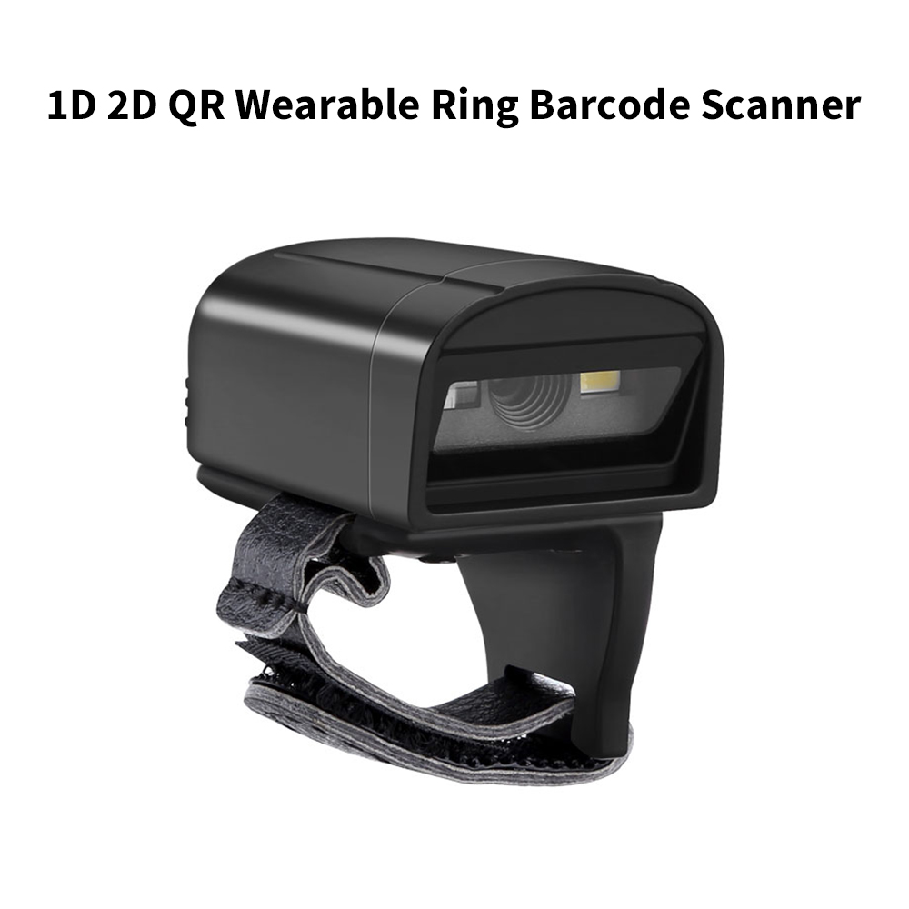 Eyoyo Scanner Portable Data-Matrix Code-Reader Ring-Barcode Image 2D Android 1D for IOS