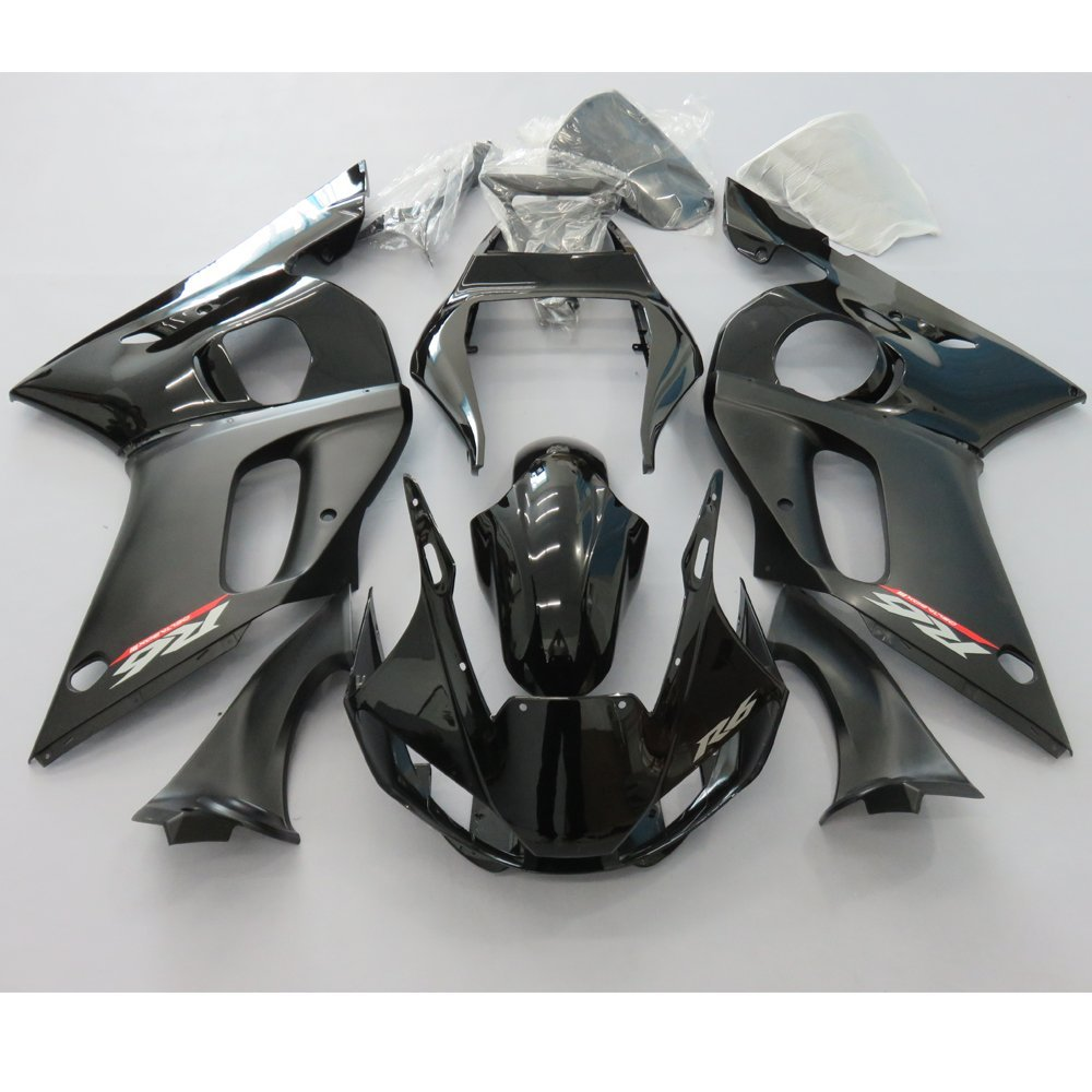 Motorcycle Fairing Kit for Yamaha YZF R6 YZFR6 1998-2002 2001 2000 1999 YZF-R6 98 99 00 01 02 Custom Injection Mold Fairings Set