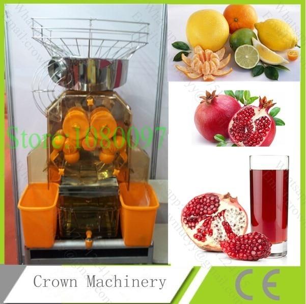 Automatic commercial industrial pomegranate orange lemon juicer extracting machine juicer - Machine a presser orange ...