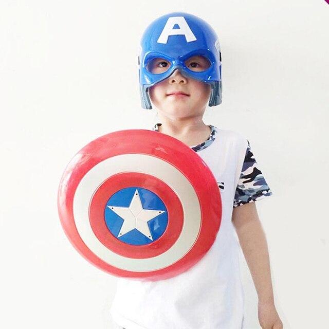 Super Hero Avenger LED LIGHT Music Captain America Shield Party Costume Kid Toy Halloween  sc 1 st  AliExpress.com & Super Hero Avenger LED LIGHT Music Captain America Shield Party ...