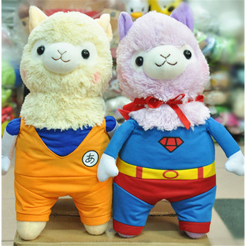 Hot 45cm Good Night Alpaca Toys Japan Amuse Alpacasso Arpakasso Plush Stuffed Doll Kids Alpaca Christmas Gifts Toy 5styles