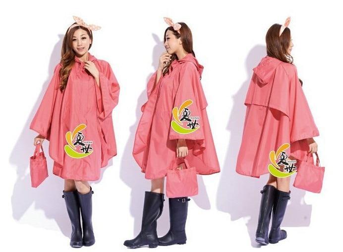 Fashion cheap cloak raincoat women cute trench coat female ...