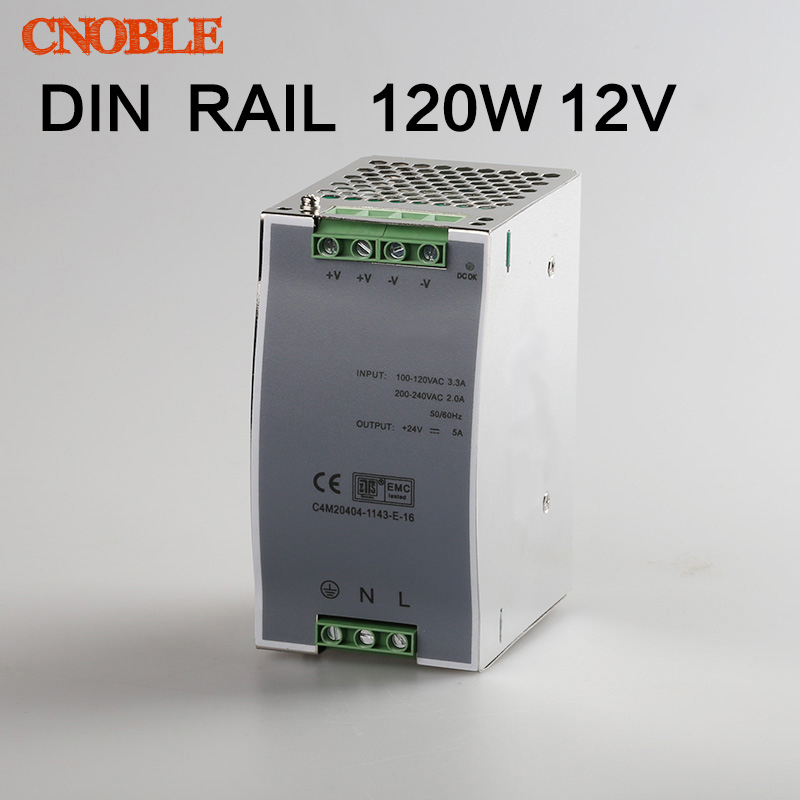 120W 12V Din Rail Single Output Switching power supply-in ...