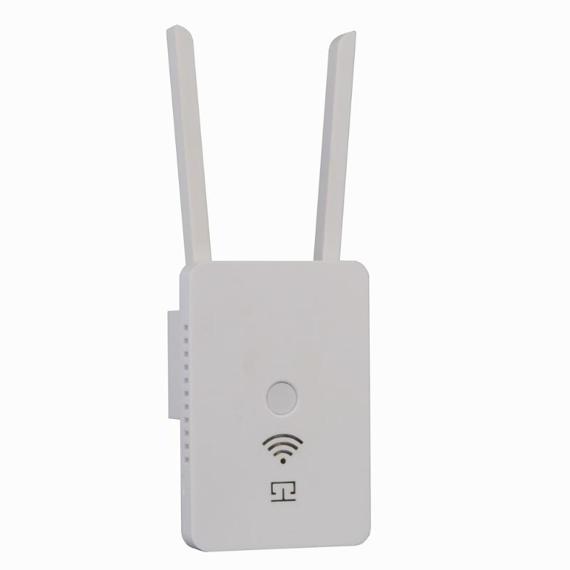 High Power Wireless Wifi Repeater Router WF8500 300Mbps Dual Band Wireless Range Extender WiFi Repeater Router Antennas ...