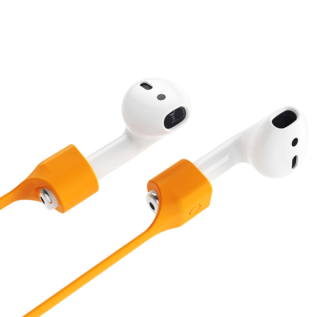 Baseus Silicone Headphone Strap Anti Lost Strap For Apple Airpods Magnetic Loop String Rope For Air Pods Earphone Accessories