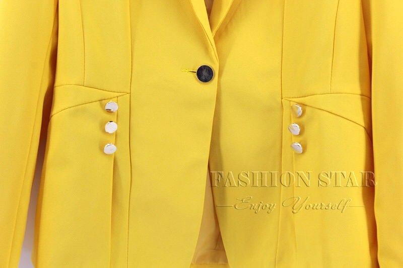 RealShe 2016 Kobiet Kurtki Długi Rękaw Garnitur Marynarka damska Marynarka Casual Mujer Feminina Plus Size Blazer Feminino Kurtki 43