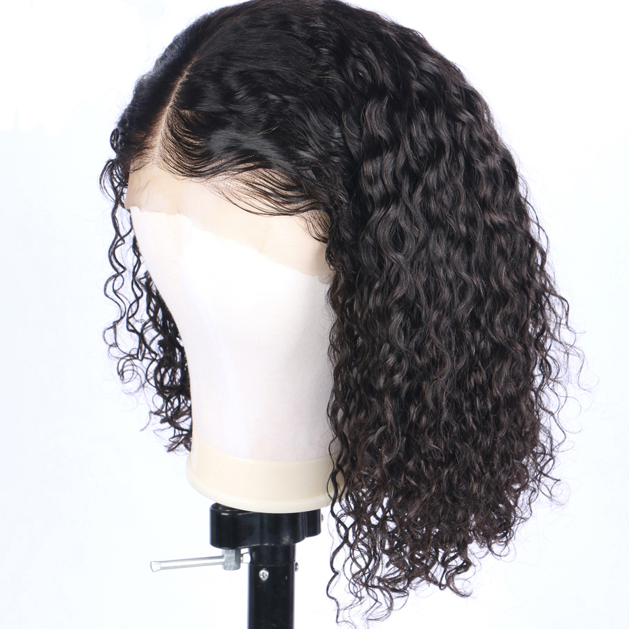 Favor Curly Full Lace Human Hair Wigs Brazilian Remy Hair For Women Pre Plucked Full Lace Wigs With Baby Hair Natural Hairline Crease-Resistance Hair Extensions & Wigs