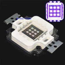1pc 10W UV High Power LED Light Chip 365nm 380nm 395nm 420nm Ultra Violet purple Light Source for DIY