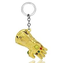 Fashion Accessories Marvel Keychains Gauntlet Keyring Anime Keychains