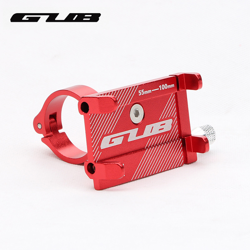 GUB G81 G-81 Aluminum Bike Phone Stand For 3.5-6.2 inch Smartphone Adjustable Bicycle Grips Support GPS Phone Mount Holder