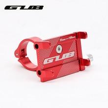 GUB G81 G-81 Алюминий велосипеда Телефон стенд для 3,5-6,2 дюймов смартфон Регулируемый велосипед ручки Поддержка gps телефон монтажный зажим