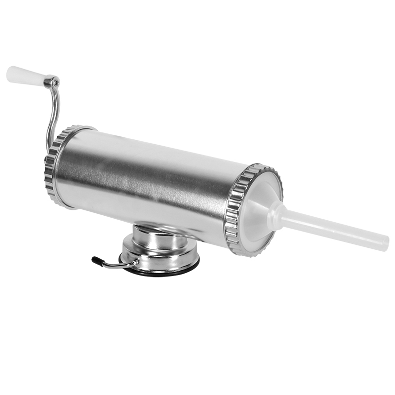 3 lbs Hand Operated Sausage Meat Stuffer With Suction Base Homemade Sausage Filling Machine Aluminum Manual