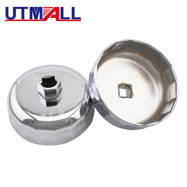 US $7 5 |2 In 1 Oil Filter Cap Wrench SOCKET Removal Tool 86mm 87mm 16  Flutes FOR BMW 316 318 VOLVO S40 S70 S80-in Engine Care from Automobiles &