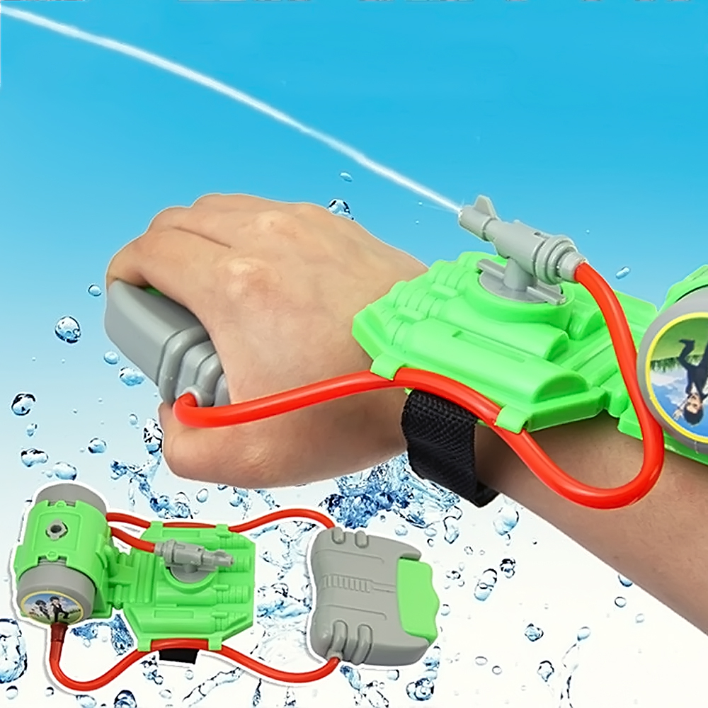 Kids Intelligent Plastic Powerful Wrist Water Spray Summer Beach Toys Swimming Pool Watergun Water Gun Shooter Sprinkling Toy