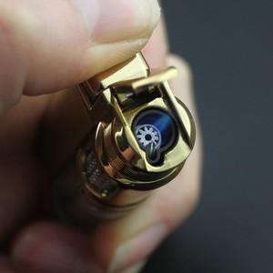 Image 5 - Encendedor de butano Visible para ventana, encendedor Turbo a prueba de fuego, pistola pulverizadora portátil de Metal, pipa cigarro, encendedor 1300 C sin Gas