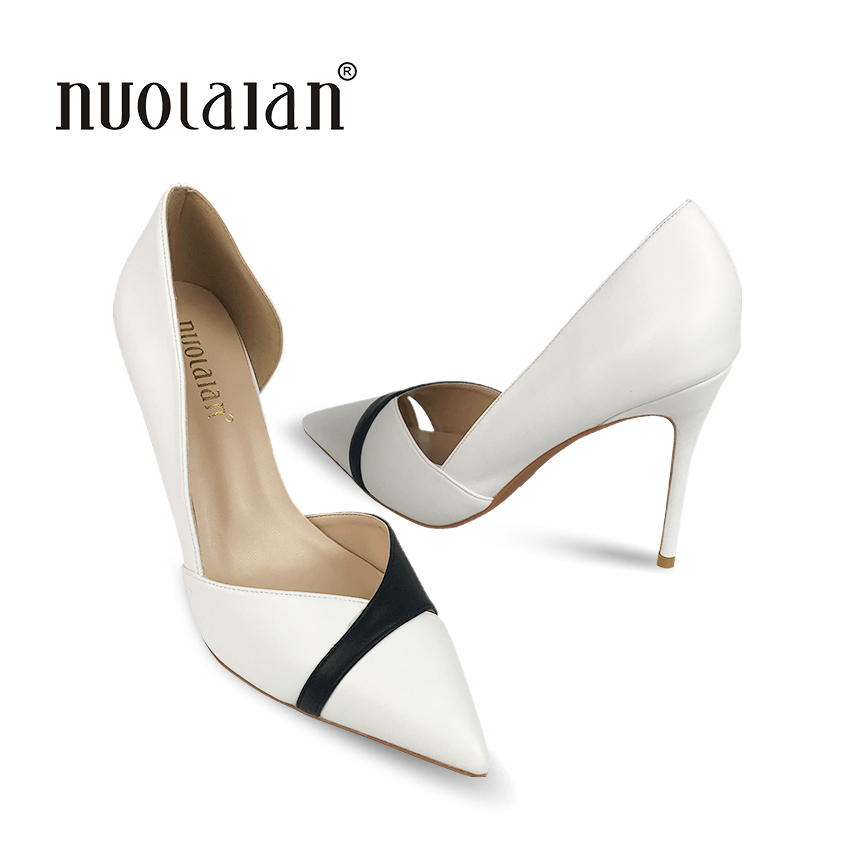 2018 High Quality Pointed Toe High Heels Shoes Women Pumps Sexy 10CM Women Shoes wedding shoes