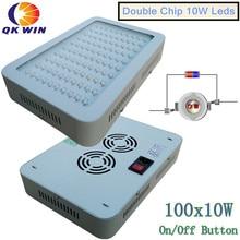 Бесплатная доставка в Бразилию Qkwin светодиодный светать 1000 Вт 2400 Вт завод расти светодиодный красный/синий/белый/ UV/IR гидропоники полный ассортимент