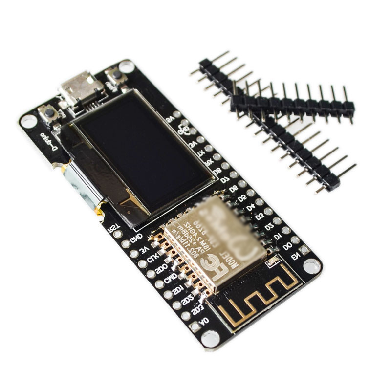 NodeMCU CP2102 ESP8266 ESP-12F For Wemos For Arduino Wifi Wireless 0.96 Inch Digital OLED Display Compatible Development Board