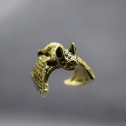 Vintage Bat Rings Fashion Retro Style Adjustable Bat Rings For Women Men Bat Jewellery Islamabad